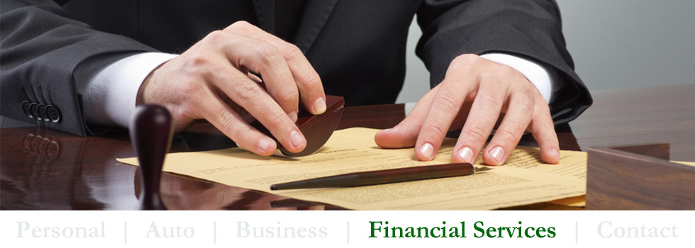 Our Financial Services