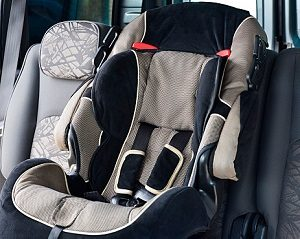 Child Seat in Car