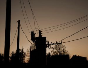 Residential Substation Silhouette